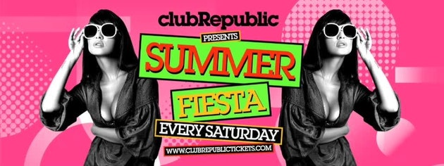 REPUBLIC SATURDAY: £3 Ticket includes First Drink on Us // 241 Jagerbombs