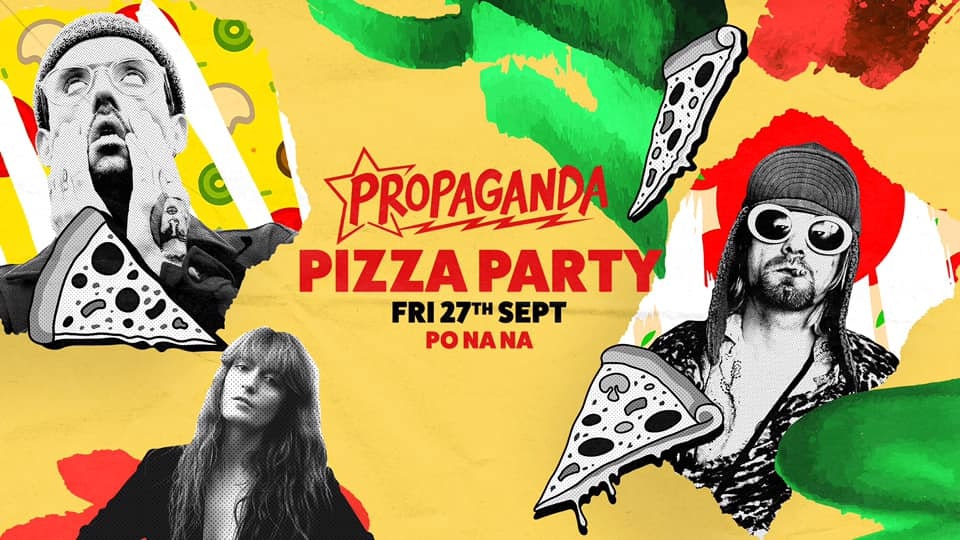 Propaganda Bath – Pizza Party!