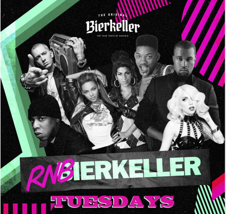 RnBierkeller – Tuesdays
