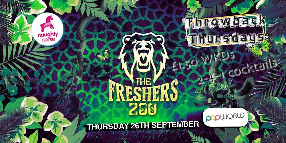 Throwback Thursdays – FRESHERS ZOO!