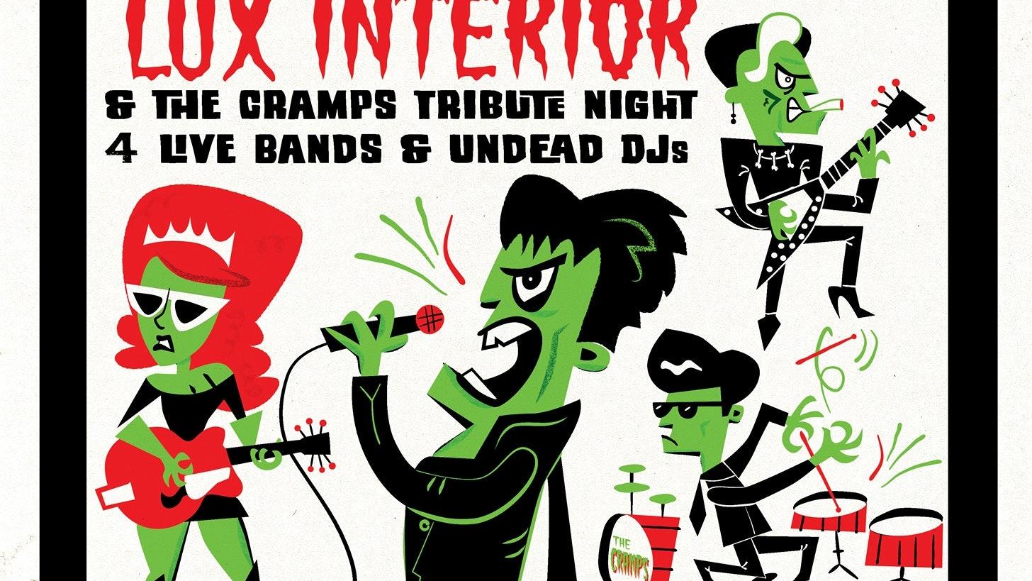 Stay Sick: Lux Interior Cramps Tribute Night