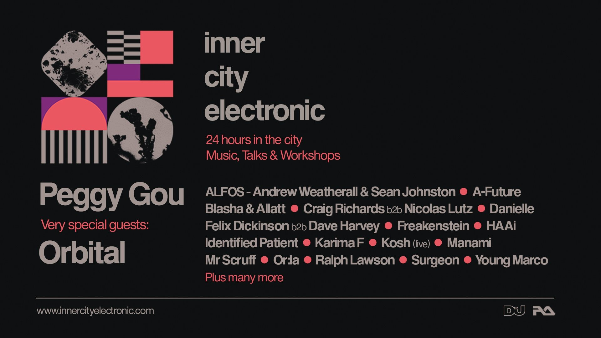 inner city electronic 2020 at The Warehouse Leeds