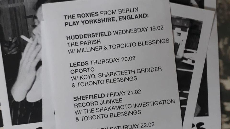 Koyo + The Roxies & Toronto Blessings