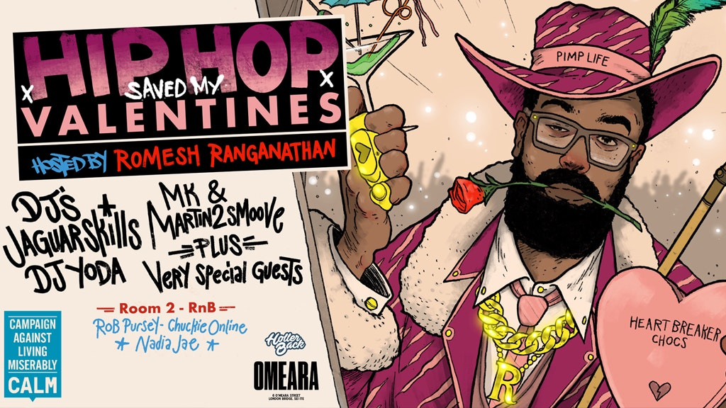 Romesh Ranganathan x Holler Back : HipHop Saved My Valentines