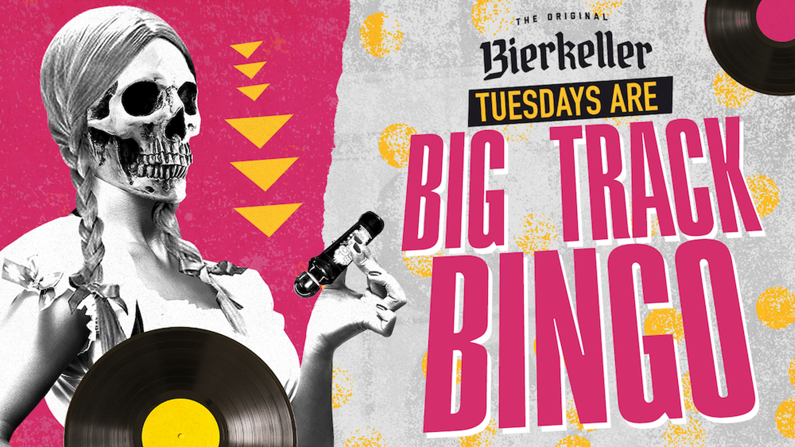 Tuesday – Big Track Bingo