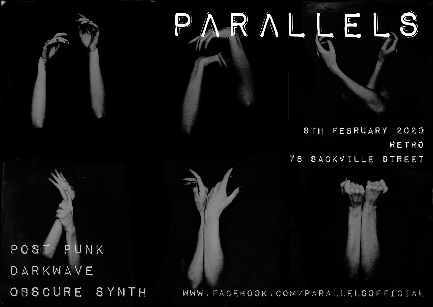 PΛRΛLLELS presents: one night of post punk, darkwave & synth