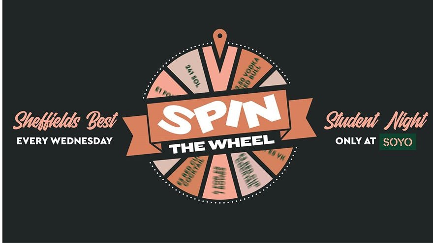 Spin The Wheel – Welcome back party!