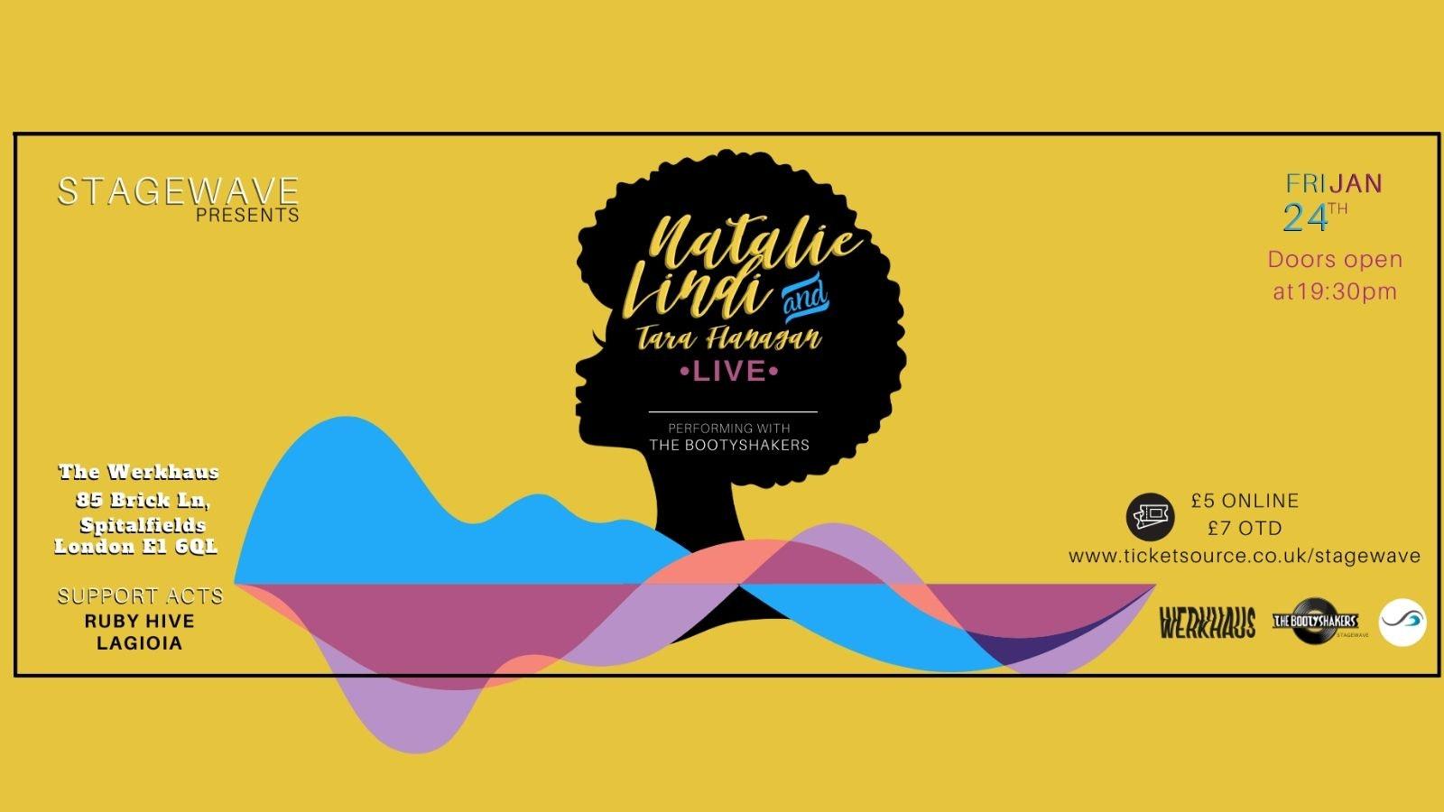 StageWave Presents: Natalie Lindi & Tara Flanagan