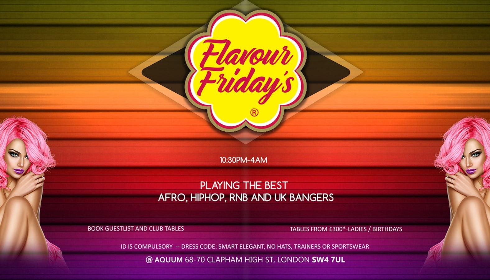 Flavour Fridays Valentines Special