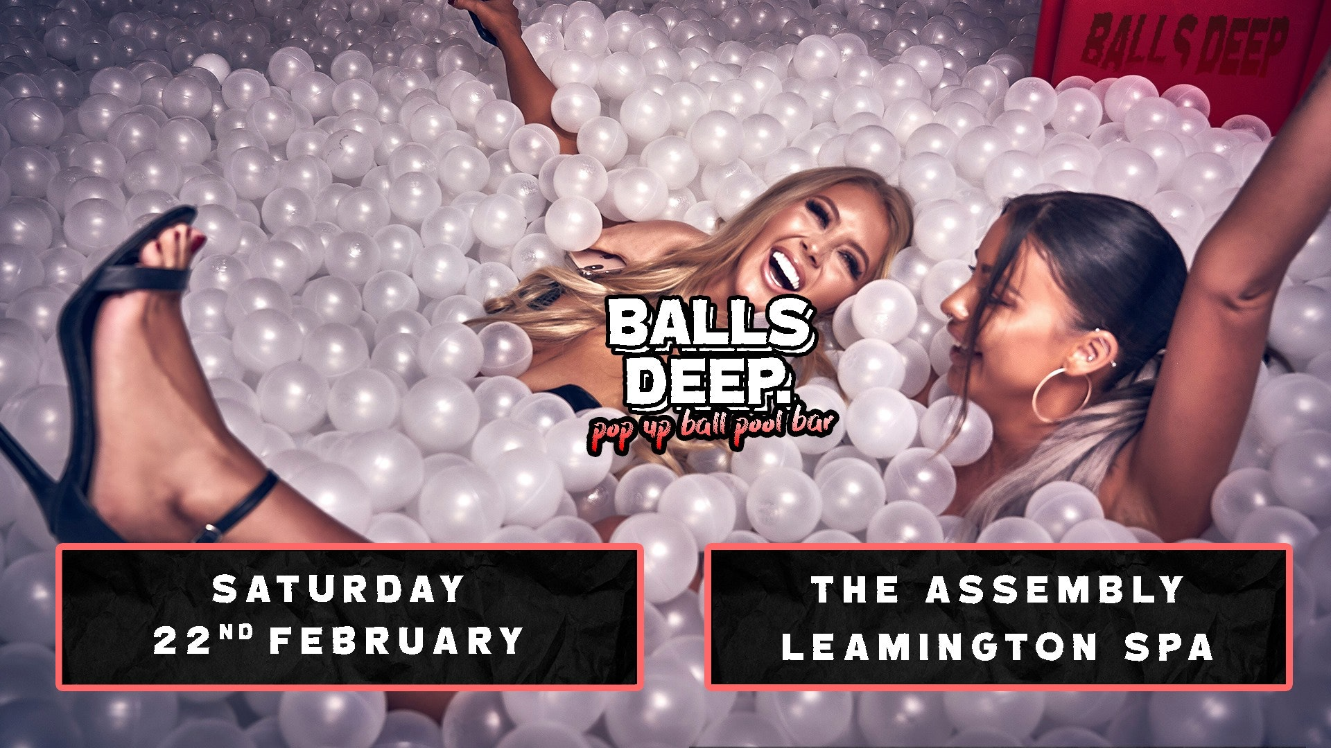 Pop Up Ball-Pool Bar Comes to Leamington Spa!