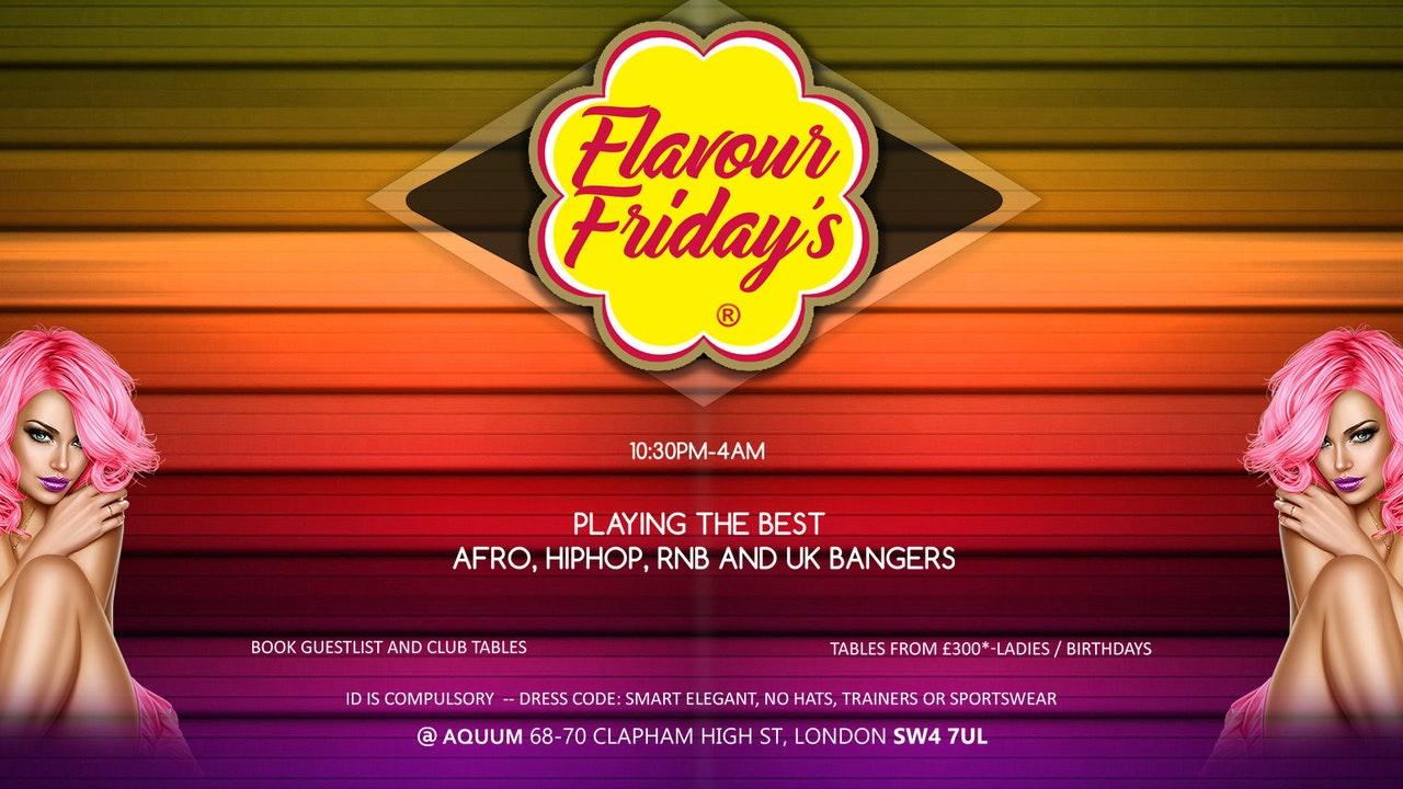 Flavour Fridays