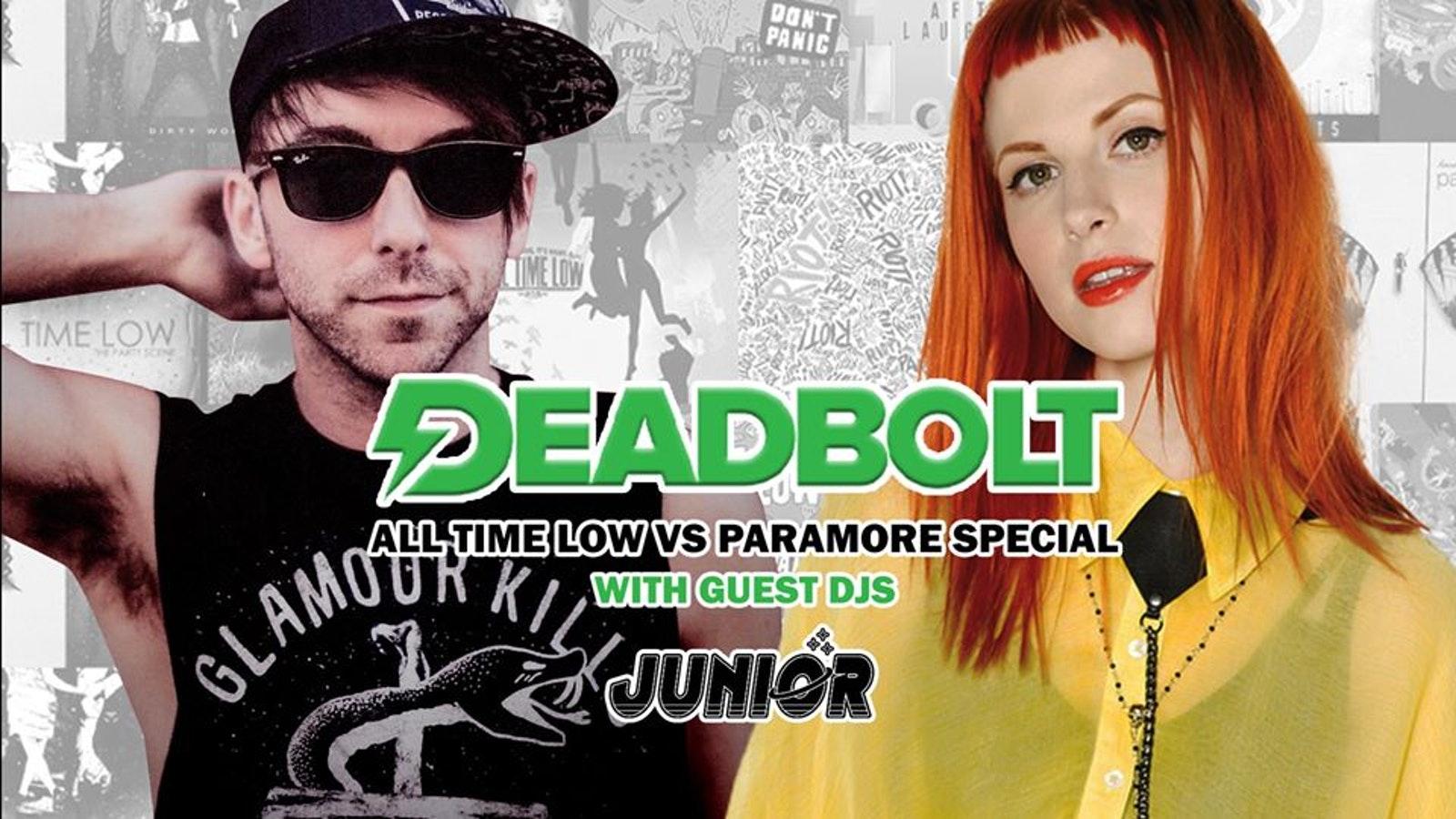Deadbolt // All Time Low Vs Paramore Special // Junior DJ Set