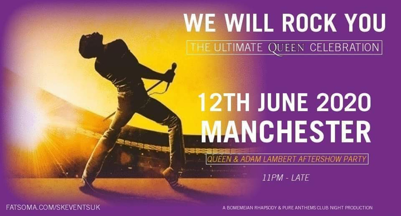 The Ultimate Queen Celebration – Manchester Aftershow Party