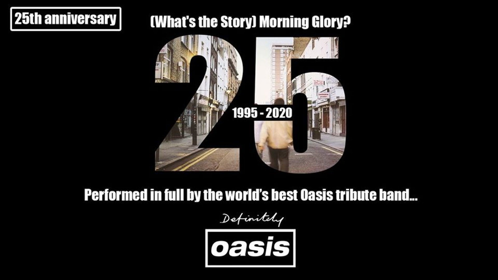 Definitely Oasis – Manchester 2020