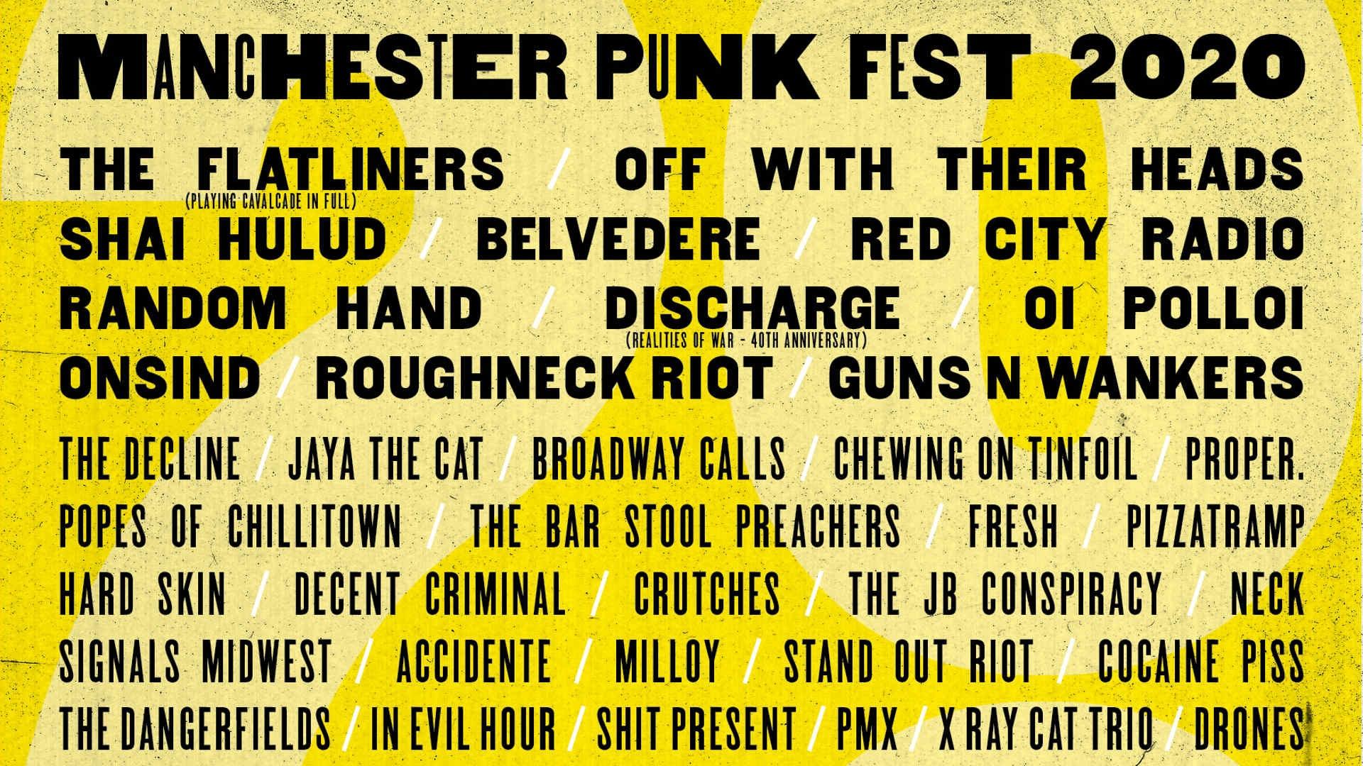 Manchester Punk Festival 2020