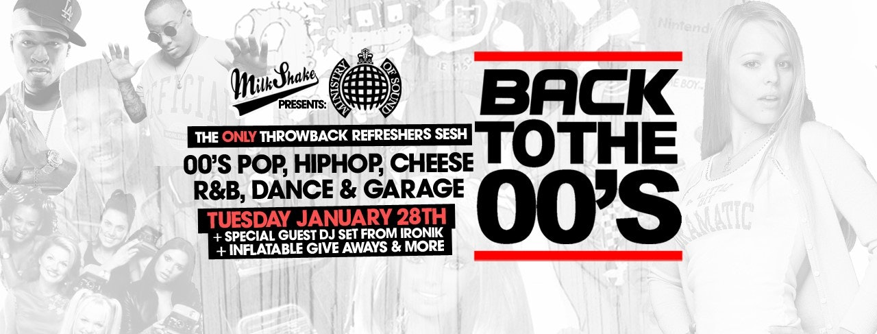 Milkshake, Ministry of Sound | Back To The 00's 😍 ft DJ Ironik & More!