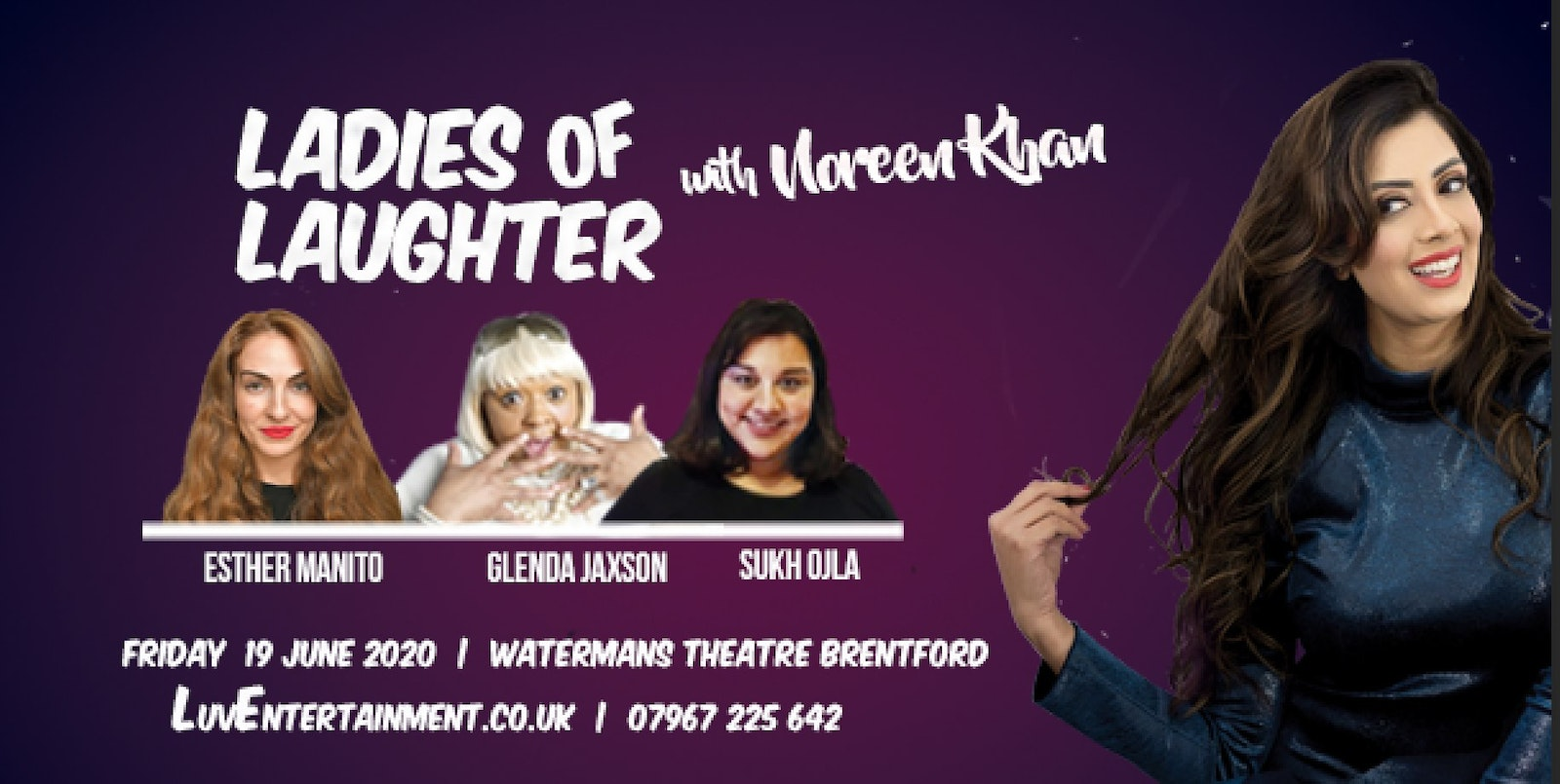 Ladies Of Laughter With Noreen Khan : Brentford