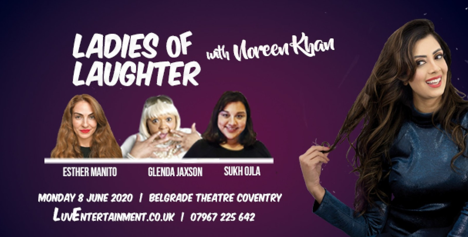 Ladies Of Laughter With Noreen Khan : Coventry