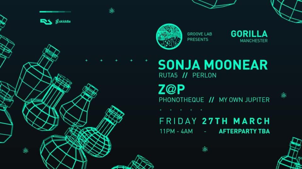 Groove Lab w/ Sonja Moonear & Z@p