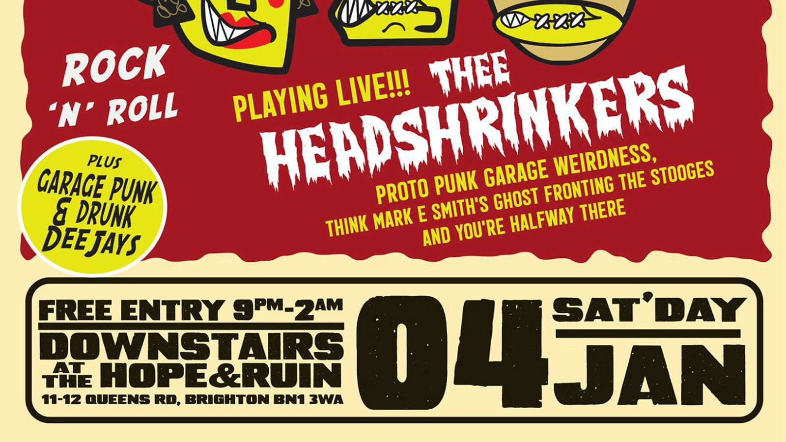 Stay Sick: Thee Headshrinkers (FREE)
