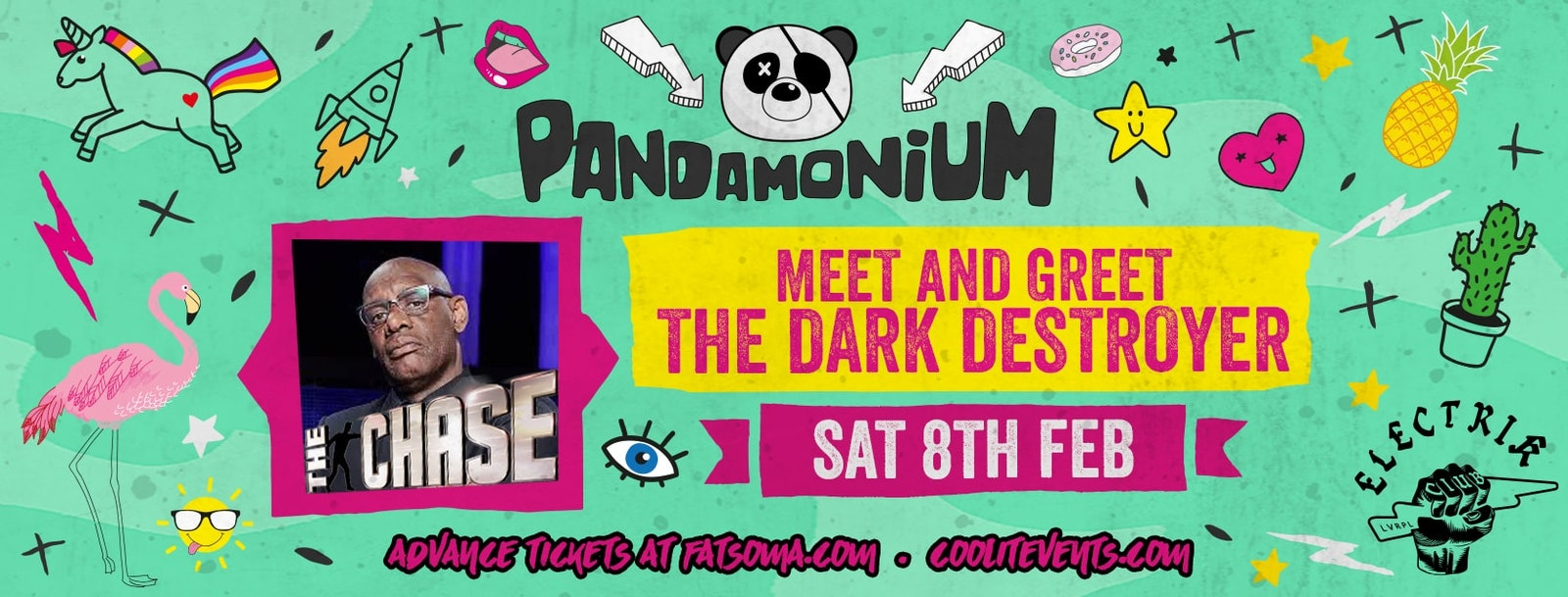 Pandamonium Saturdays – The Dark Destroyer Meet & Greet