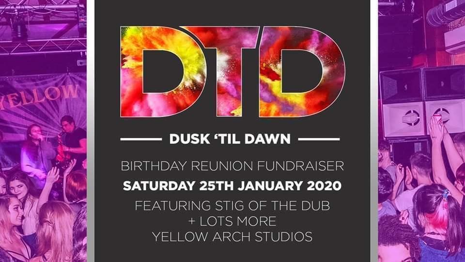 DTD 7th Birthday, Reunion & Fundraiser