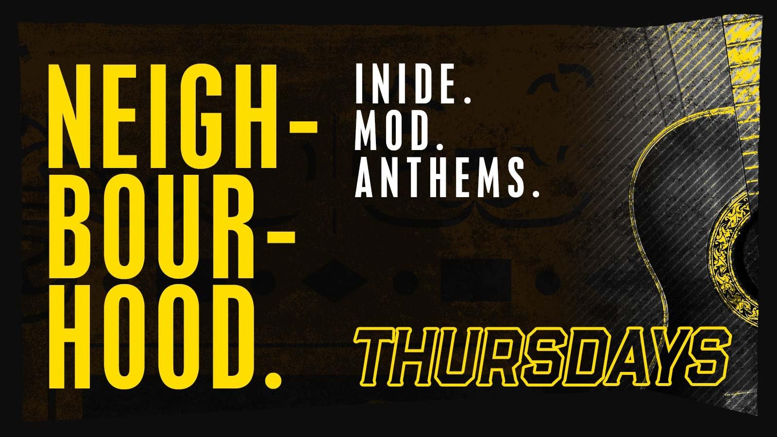 Thursday – Neigh-Bour-Hood