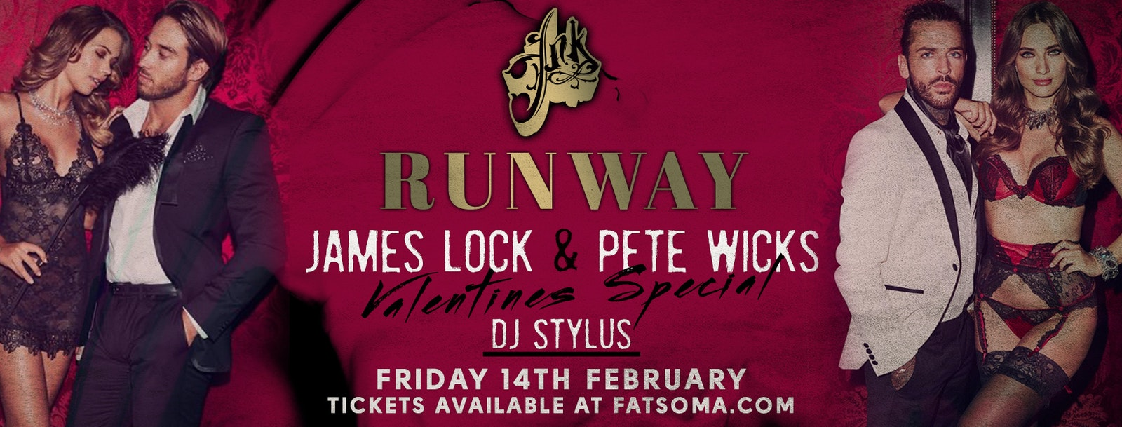 Runway Fridays with Pete Wicks & James Lock : Valentines Special