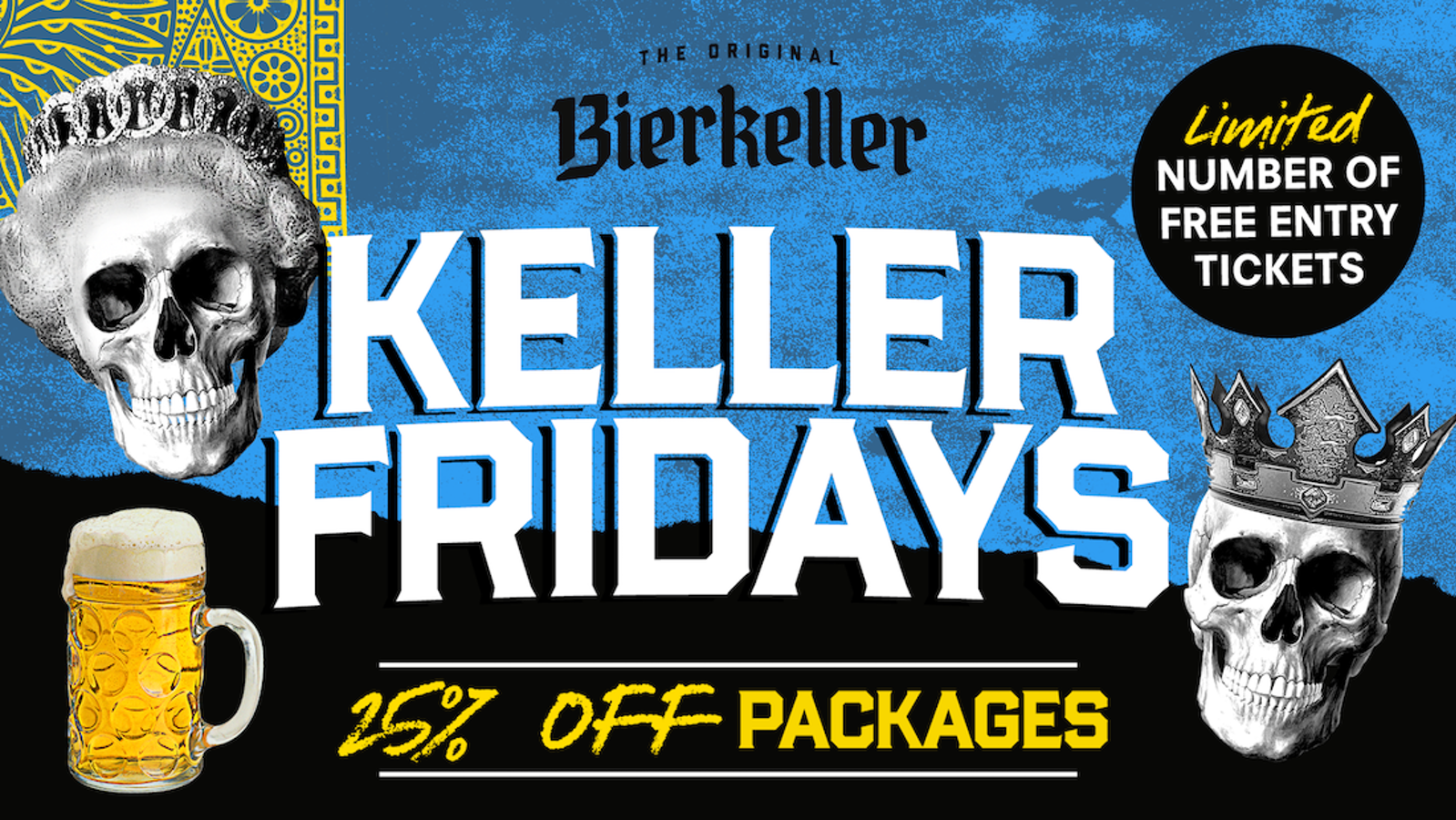 Weekend – Friday Packages