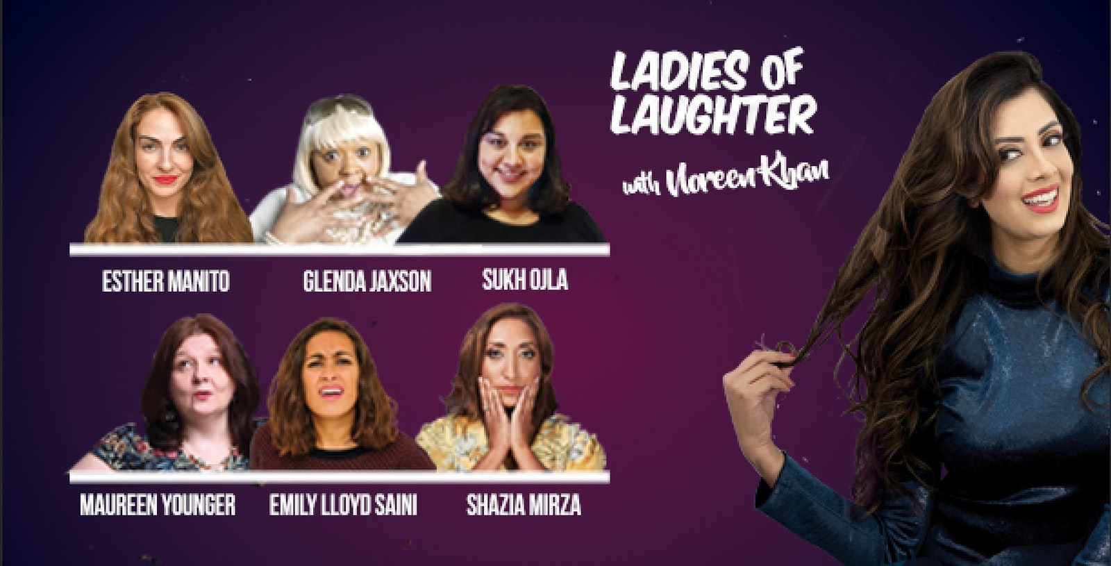 Ladies Of Laughter With Noreen Khan : Comedy Tour