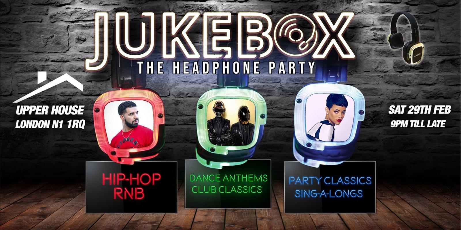 Jukebox – The Headphone party (Islington)
