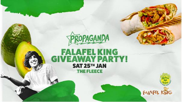 Propaganda Bristol – Falafel King Giveaway!