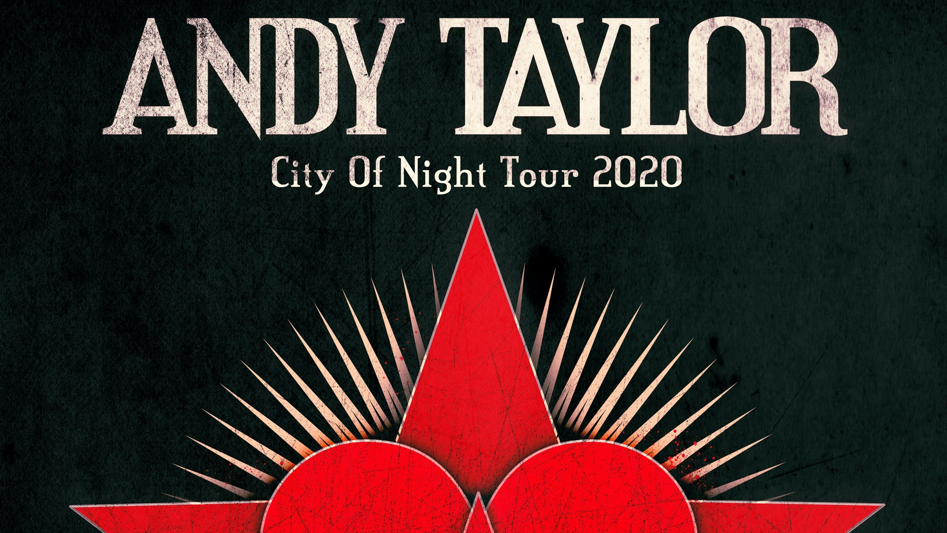 Postponed: Andy Taylor