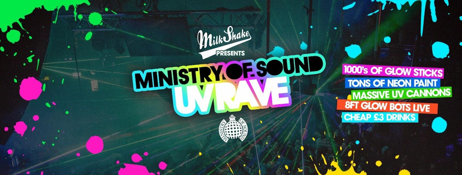 Milkshake, Ministry of Sound | Official UV Rave 2020 ⚡