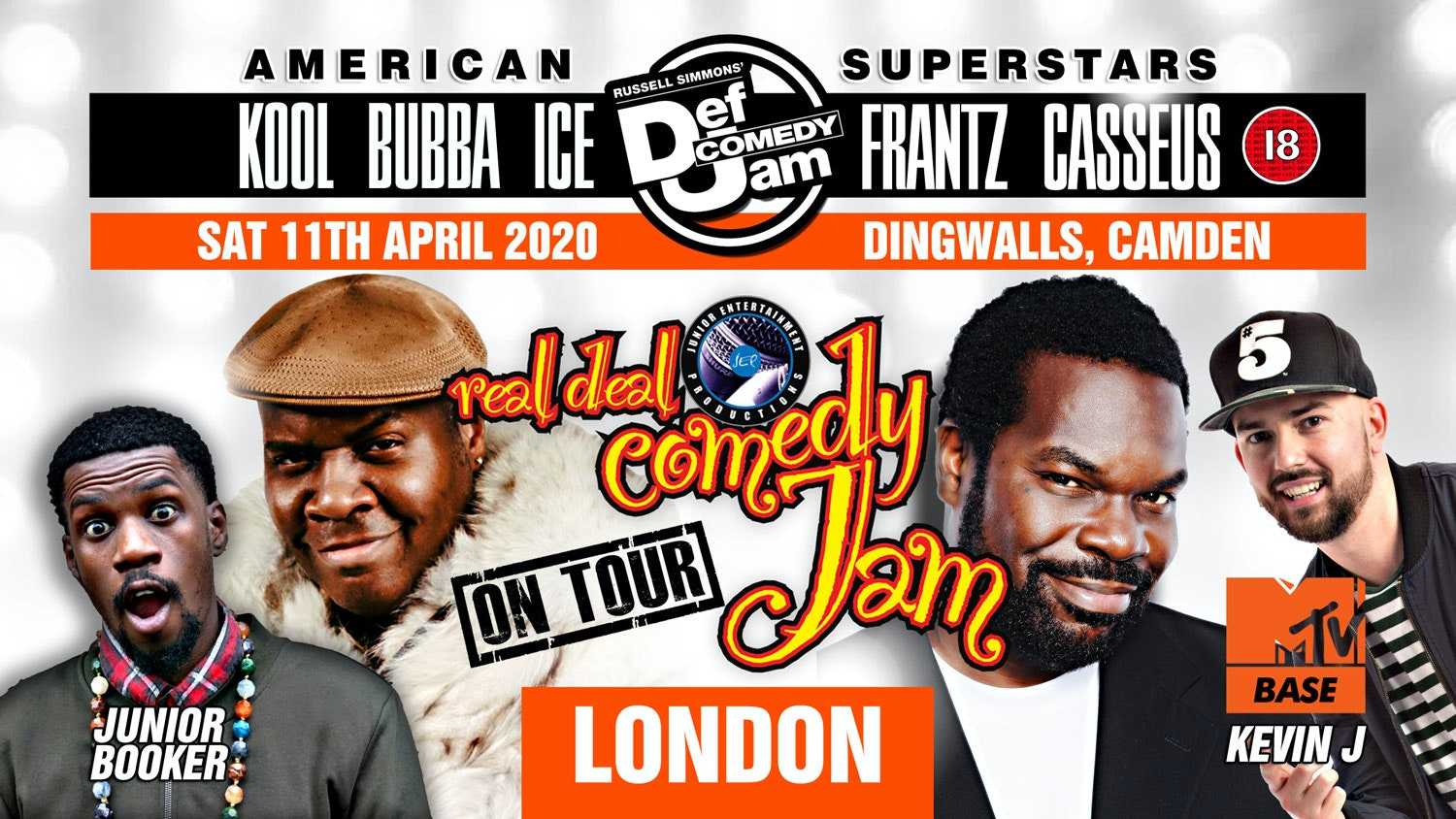 London – Real Deal Comedy Jam Easter UK Tour