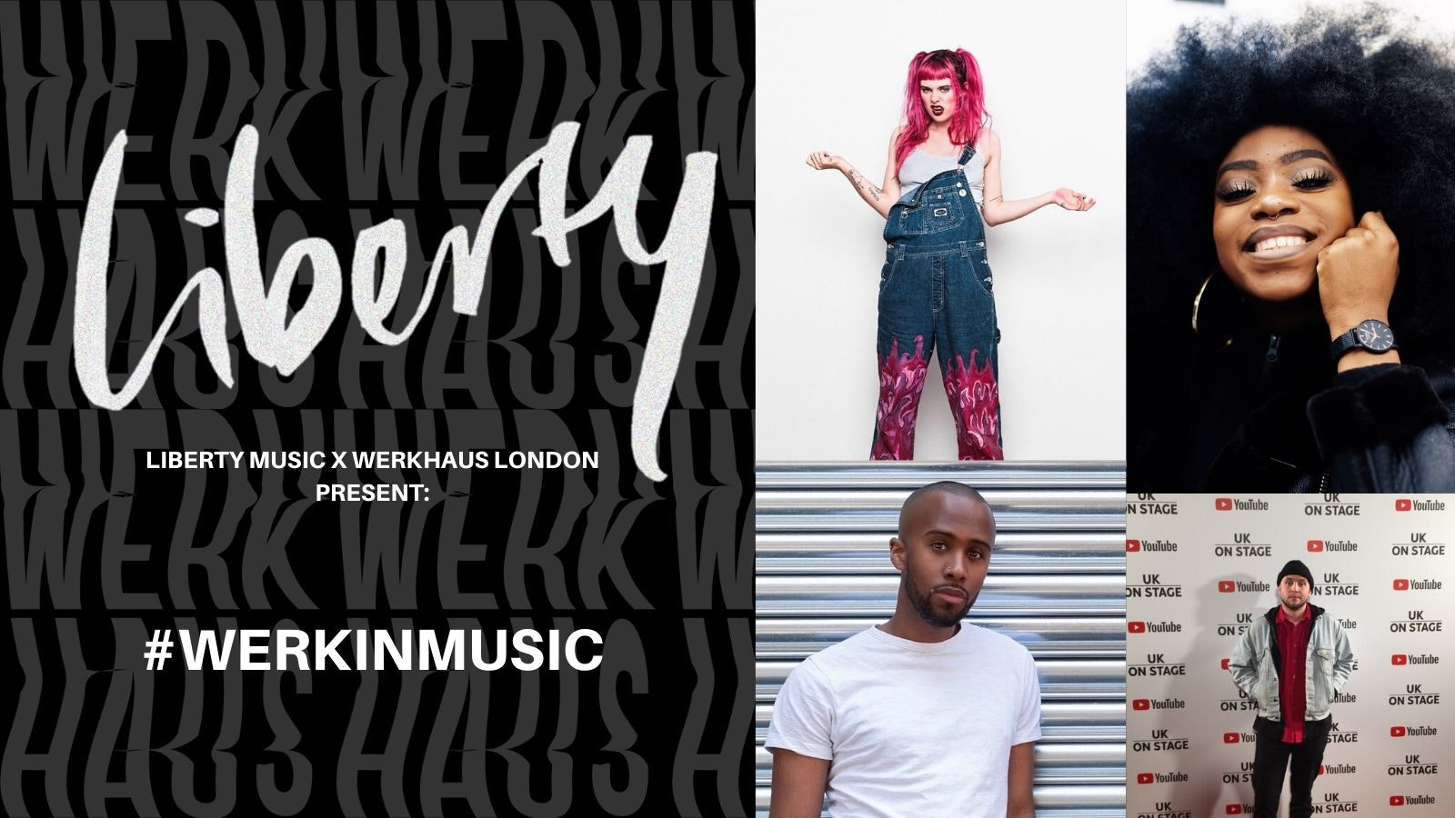 Liberty Music x Werkhaus: #WERKINMUSIC