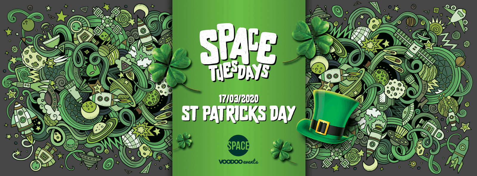 Space Tuesdays : Leeds – St Patricks Day Special