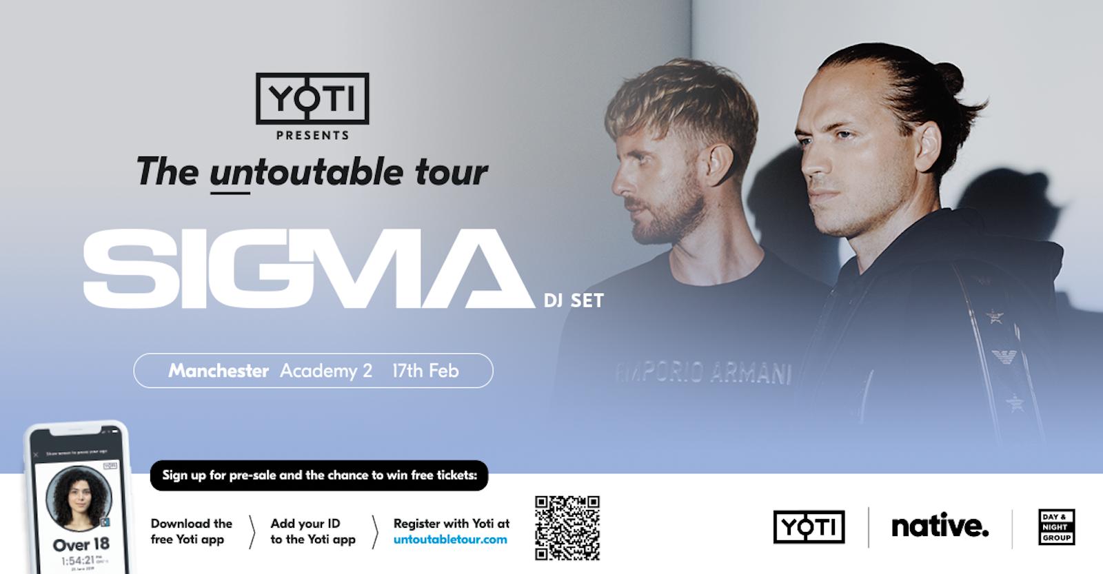Sigma: The Untoutable Tour
