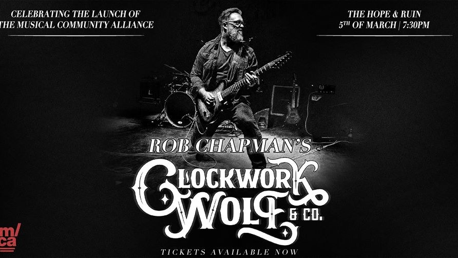 Clockwork Wolf & Co. + Smoke Filled Room
