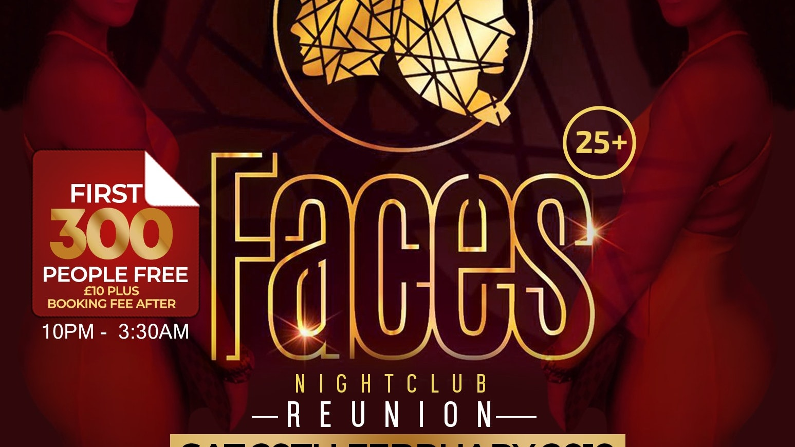 Faces Reunion – 300 Free Tickets