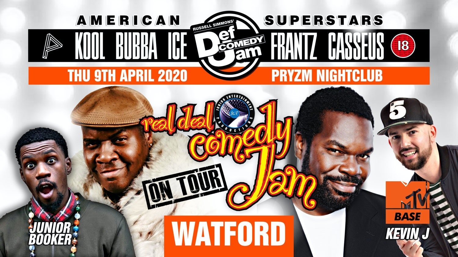 Watford – Real Deal Comedy Jam Easter UK Tour