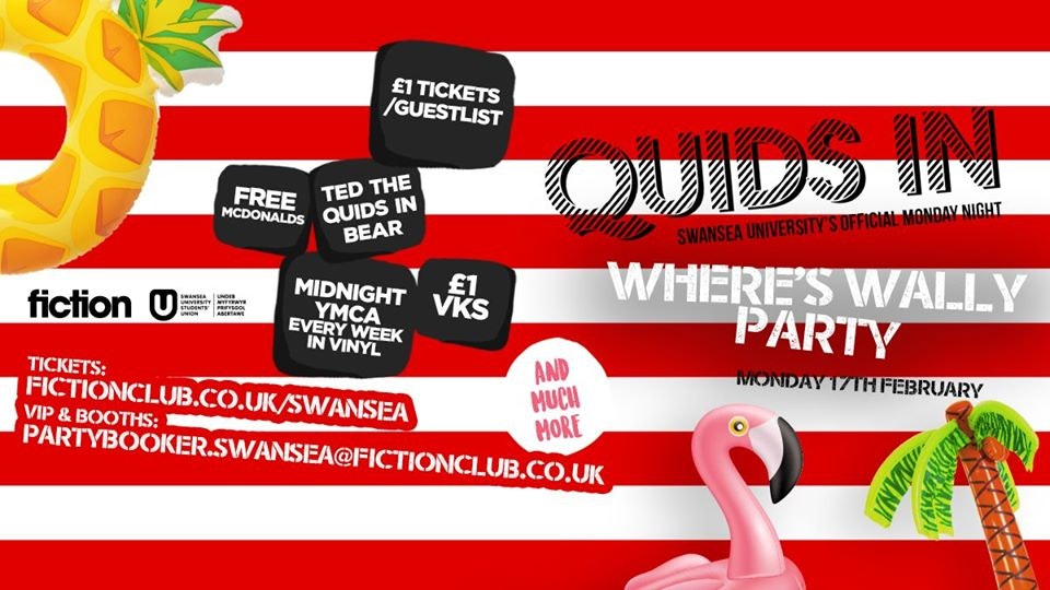 Quids IN: Where's Wally Party