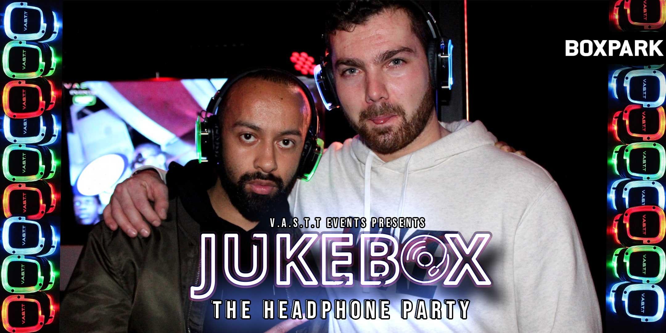 Jukebox – The Headphone party @Boxpark Croydon