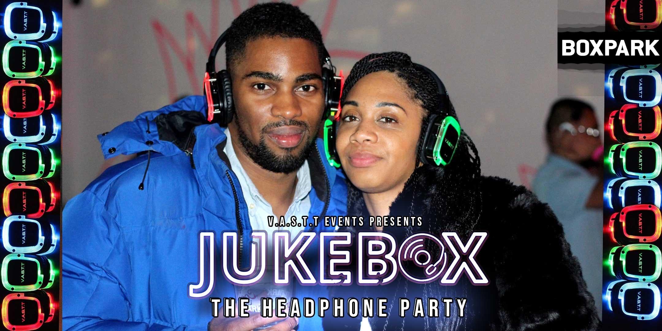 Jukebox- The Headphone Party@Boxpark Croydon