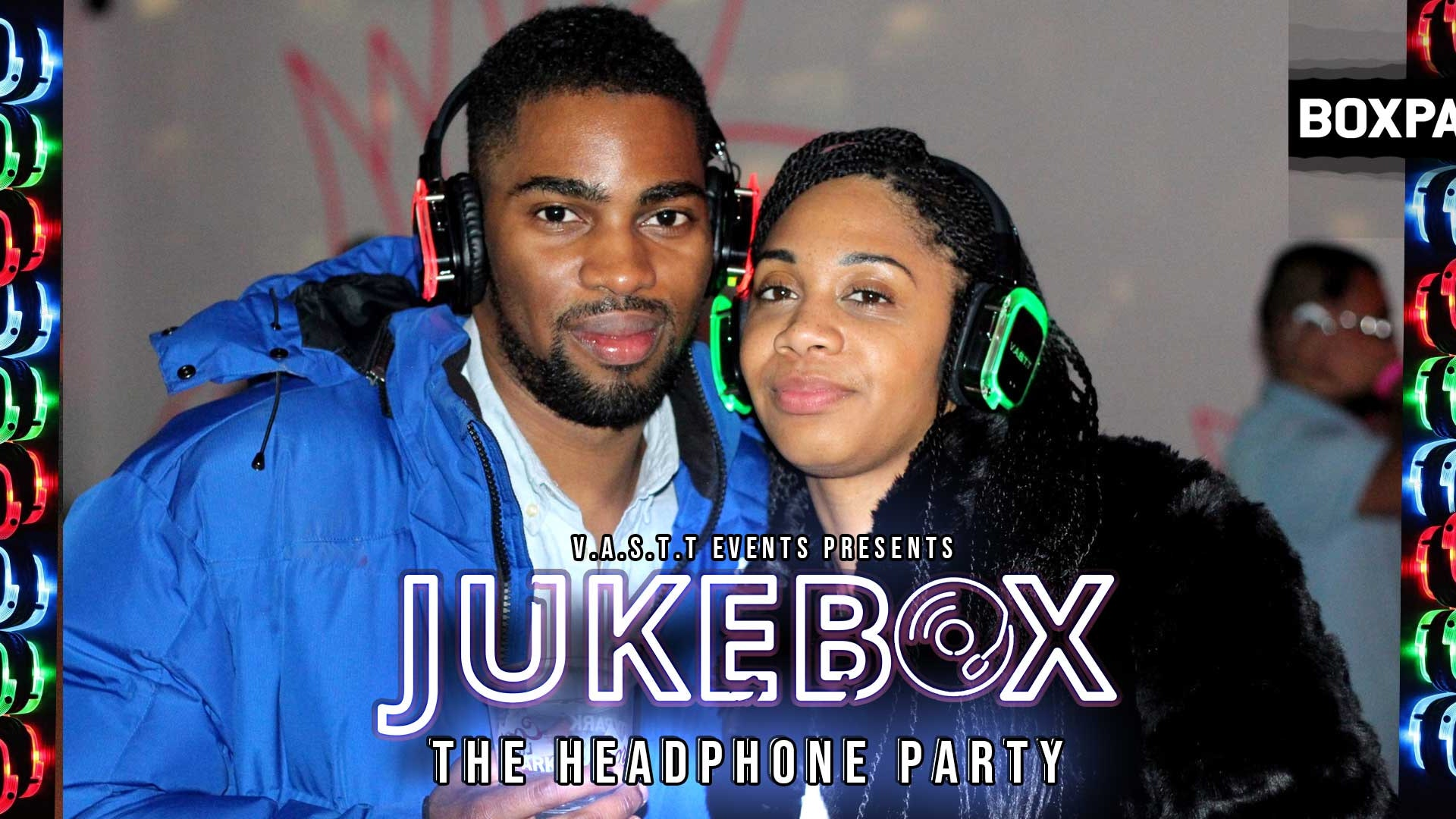 Jukebox- The Headphone Party@Boxpark Croydon