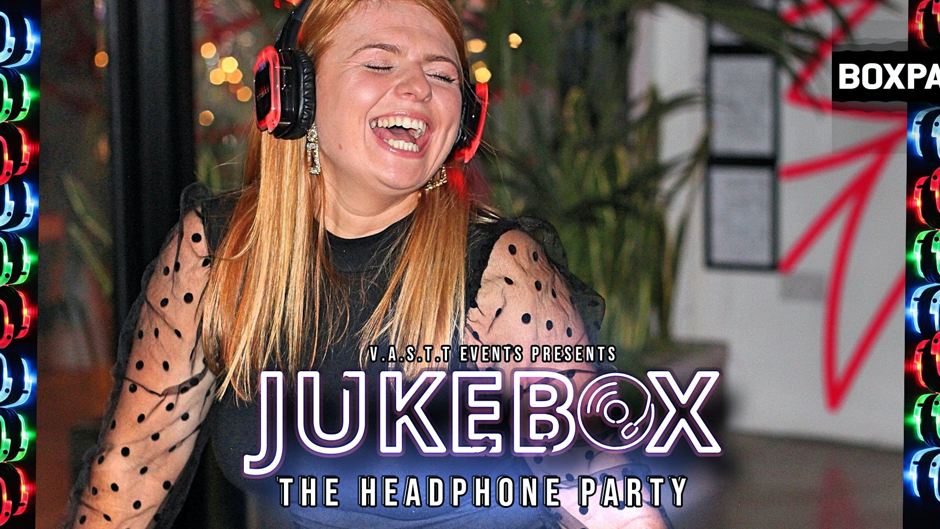 Jukebox-  The Headphone Party @Boxpark Shoreditch