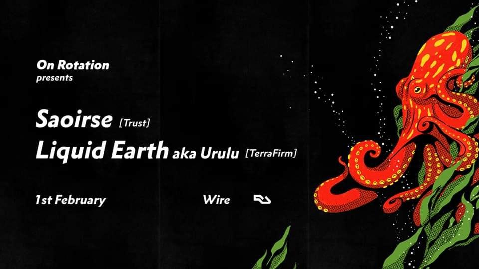 On Rotation: Saoirse + Liquid Earth aka Urulu