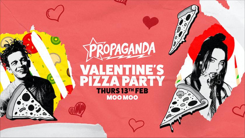 Propaganda Cheltenham – Valentine's Pizza Party!