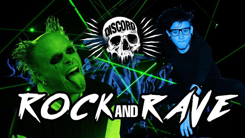 The Rock & Rave – Discord UV Party! Free Glow Sticks!