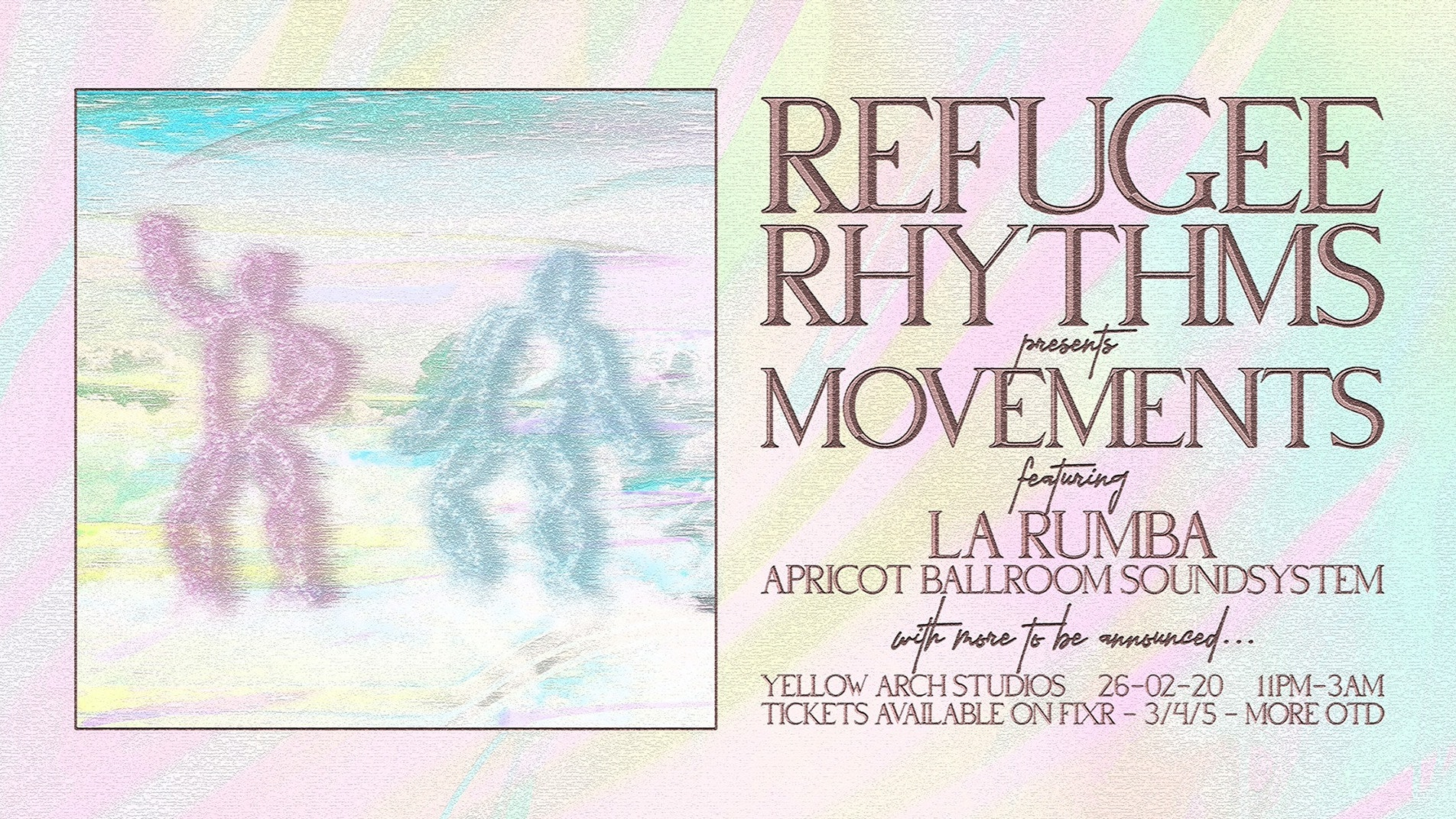 Refugee Rhythms presents Movements #6